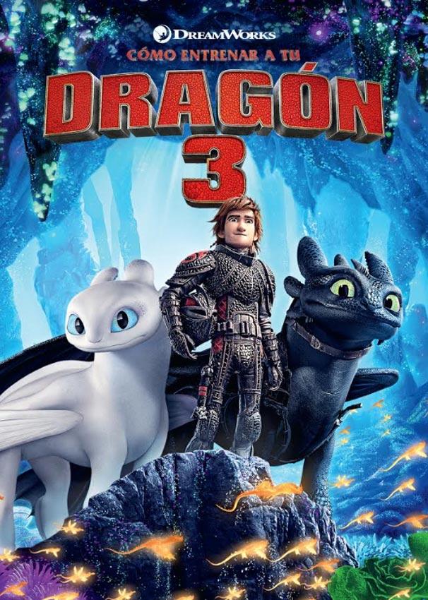 Ver pelicula como entrenar a tu dragon 3