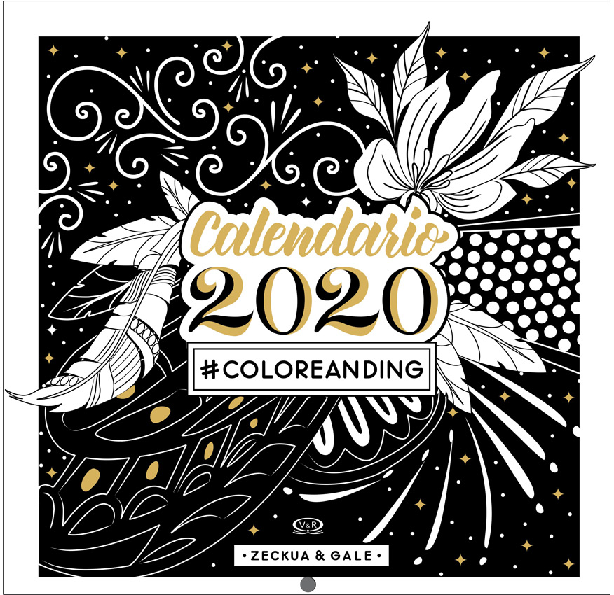 CALENDARIO # COLOREANDING 2020